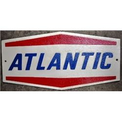 CAST IRON ATLANTIC SIGN /$149.00