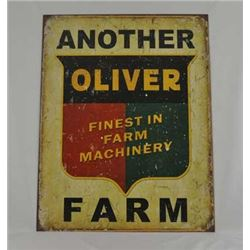 ANTIQUE OLIVER FARM EQUIPMENT / $39.00