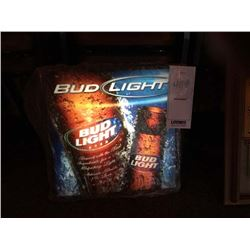 "BUD LIGHT LIGHTED SIGN/GOOD CONDITION/*SEE PHOTOS*/ APPROX 18"" HIGH X 19"" WIDE"
