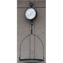 METAL REPLICA GENERAL STORE HANGING SCALES / $129.00
