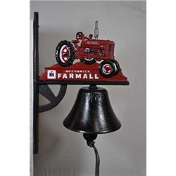 LARGE FARMALL WALL BELL $119.00