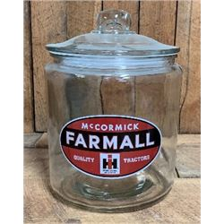 COUNTRY STORE FARMALL GLASS DISPLAY UNIT $69.00