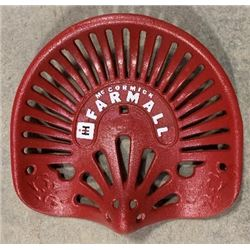 CAST IRON FARMALL AUTHENTIC TRACTOR SEAT