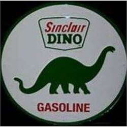 24 INCH VINTAGE SINCLAR GAS SIGN / METAL $69.00