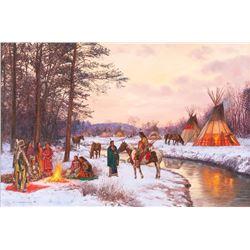 Hubert Wackermann, oil on canvas
