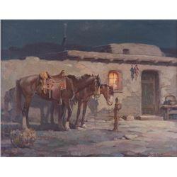 Gray Bartlett, oil on canvas