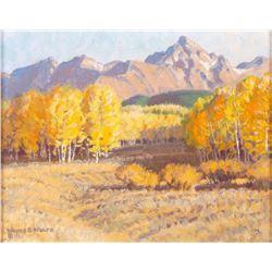 Wayne E. Wolfe, three oils
