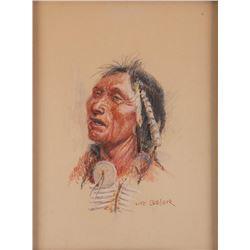 Joe Beeler, three watercolors