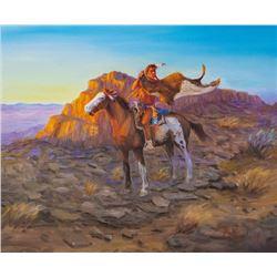 Len Babb, oil on canvas