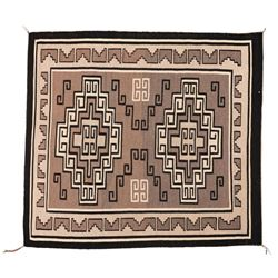 "Navajo Rug, 4'4"" x 4'"