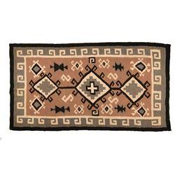 "Navajo Rug, 6' x 3'3"""