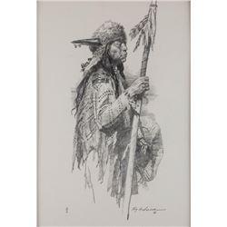 Roy Andersen, charcoal