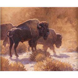 Ralph Oberg, oil on canvasboard