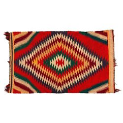 "Navajo Rug, 3'4"" x 1'11"""