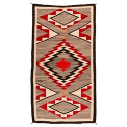 "Navajo Weaving, 6'4"" x 3'6"""