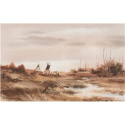 Gary Lords, watercolor Tom Sander, watercolor Gary Schildt, bronze