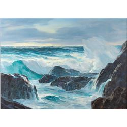 Leland Curtis, oil on canvas