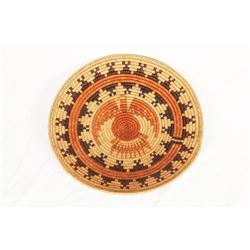 "Navajo Wedding Basket, 30"" diameter"