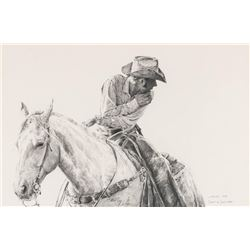 "Robert ""Shoofly"" Shufelt, pencil"