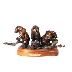 Daniel Parker, mini bronze