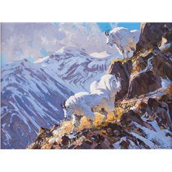Greg McHuron, oil on canvasboard