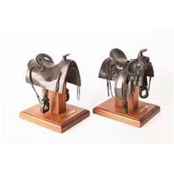 Fred Fellows, two bronzes