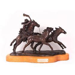 Gordon Monroe, bronze Bill Gebhart, bronze