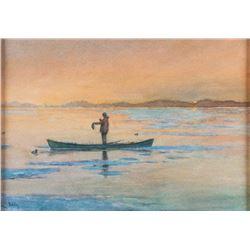 Thomas Daly, watercolor