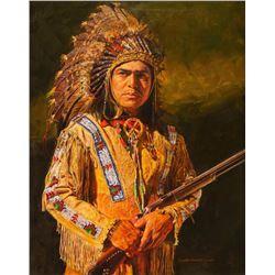 John Bruce, oil on canvas
