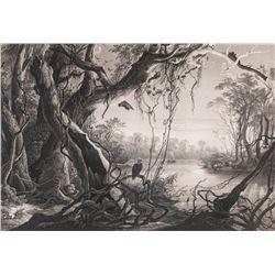 Karl Bodmer, lithograph