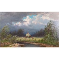 Frederick, Schafer, oil on canvas