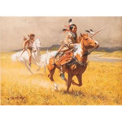 Frank McCarthy, oil on canvas
