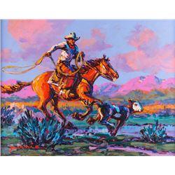 Larry Pirnie, oil on canvas
