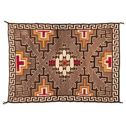 "Navajo Rug, 6'7"" x 4'8"""