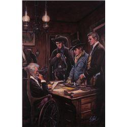 Guy Deel, oil on canvas