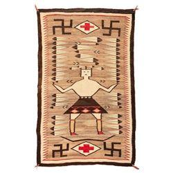 "Navajo Rug, 6'6"" x 3'11"""