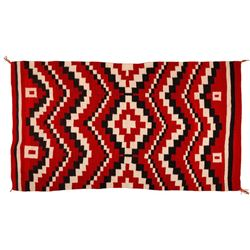 "Navajo Rug, 4'8"" x 3'9"""
