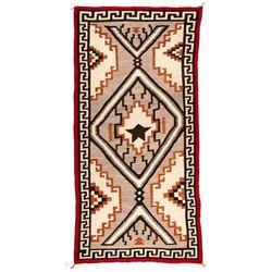 "Navajo Rug, 9'2"" x 4'6"""