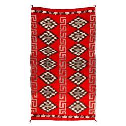 "Navajo Rug, 8'7"" x 5'1"""