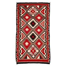 "Navajo Rug, 6'9"" x 3'9"""
