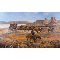 Robert Rickards, oil on canvas