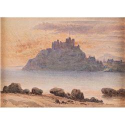 Albert Bierstadt, watercolor