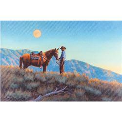 Ed DuRose, oil on canvas
