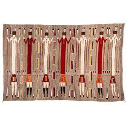 "Navajo Rug, 5'9"" x 9'"
