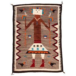 "Navajo Rug, 6'5"" x 4'8"""