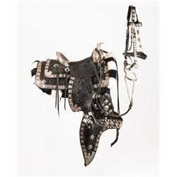 Sterling Silver Mounted Parade Saddle
