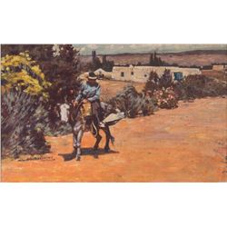 Odon Hullenkremer, oil on canvas
