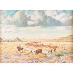 Elizabeth Lochrie, oil on canvasboard