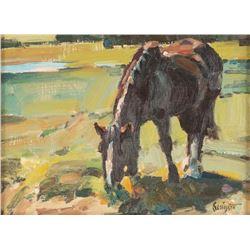 Gary Schildt, oil on canvas