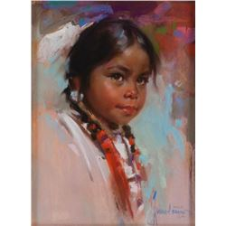 Harley Brown, pastel